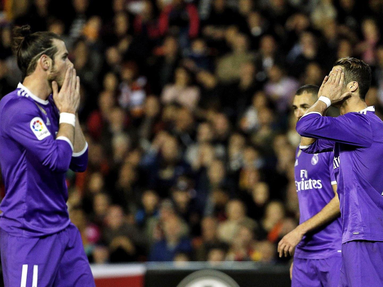 Real Madrid derrotado em Valência