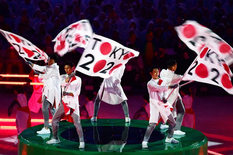 Bandeira olímpica já chegou a Tóquio para os Jogos de 2020