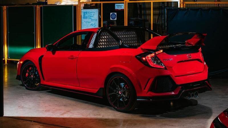 Honda revela novo Civic Type R… Pickup Truck!