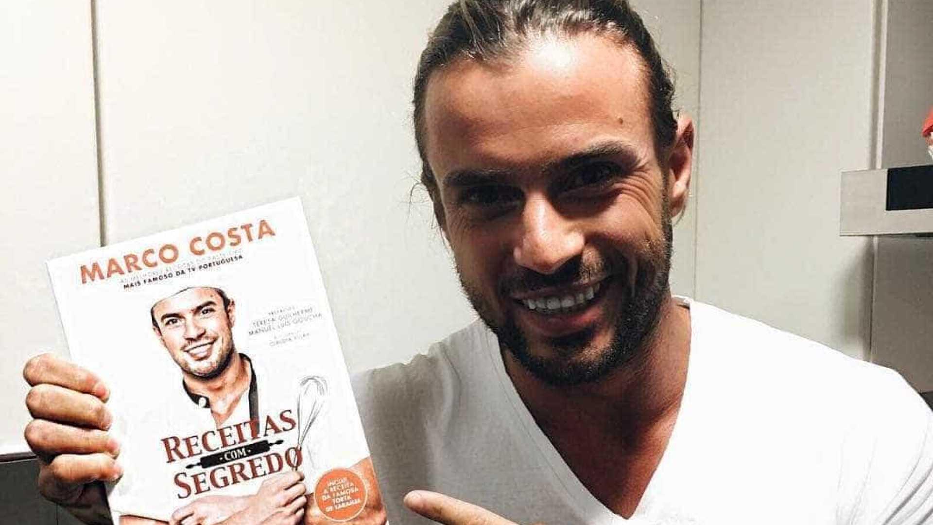Marco Costa não podia estar mais feliz com o sucesso do seu livro