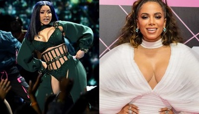 "Anitta lança convite a Cardi B: ""Tenho a música perfeita para nós"""