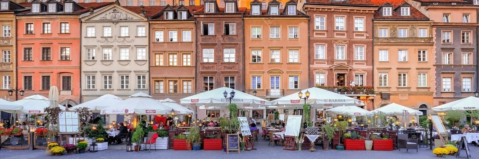 Se procura um destino diferente, não deixe de visitar Varsóvia