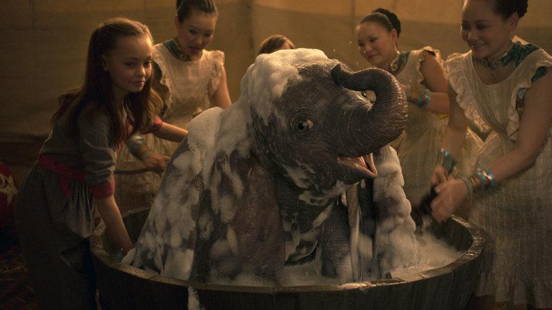 """""""Dumbo"""": à conquista dos céus, longe do coração"""