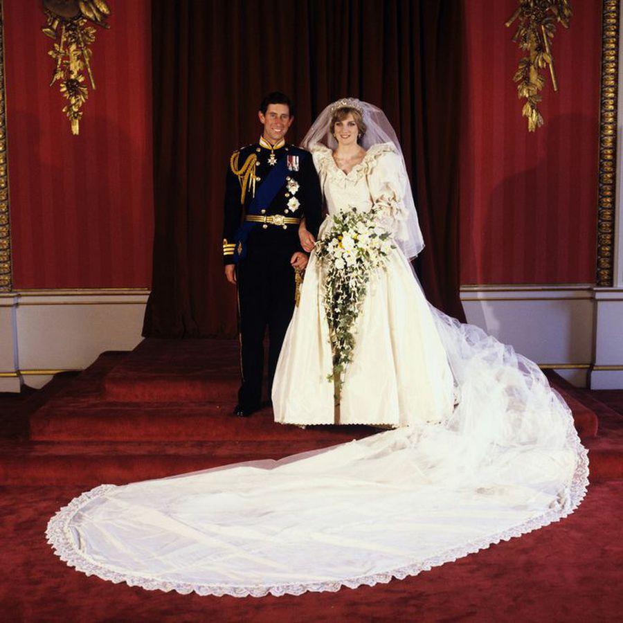 Vestido de noiva da Princesa Diana