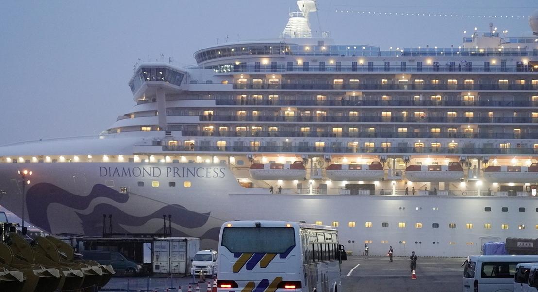 Covid-19: autoridades japonesas confirmam infeção de tripulante português