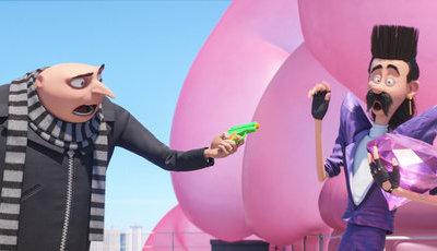 """""""Gru - O Maldisposto"""" ultrapassa """"Shrek"""": Sagas animadas têm novo campeão nas bilheteiras"""