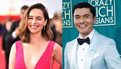 """Canção icónica de George Michael vai juntar Emilia Clarke e ator-sensação de """"Crazy Rich Asians"""""""