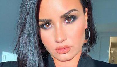 Verde lima do cabelo às unhas: este é o novo look de Demi Lovato