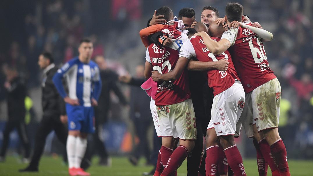 Taça da Liga: veja o resumo do SC Braga 1-0 FC Porto