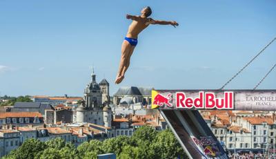 Desportos aquáticos com a Red Bull