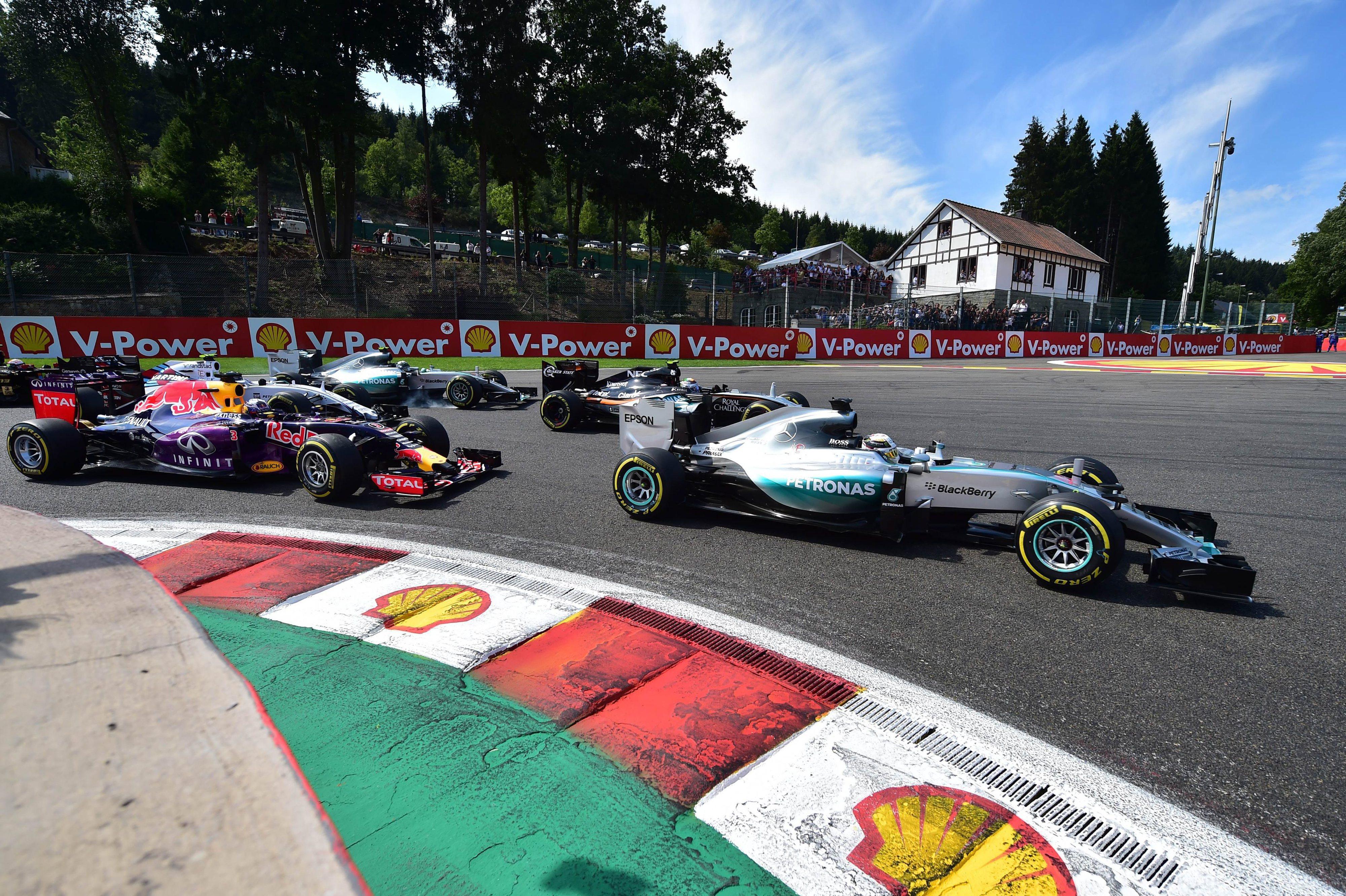Grande Prémio da Bélgica permanece no calendário mundial da Fórmula 1 até 2021