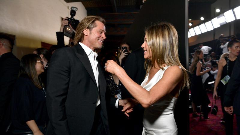 O reencontro que todos queriam ver: Brad Pitt e Jennifer Aniston juntos nos SAG Awards