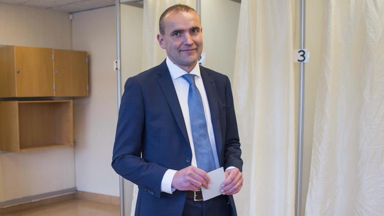 Gudni Johannesson, candidato a presidente da república da Islândia