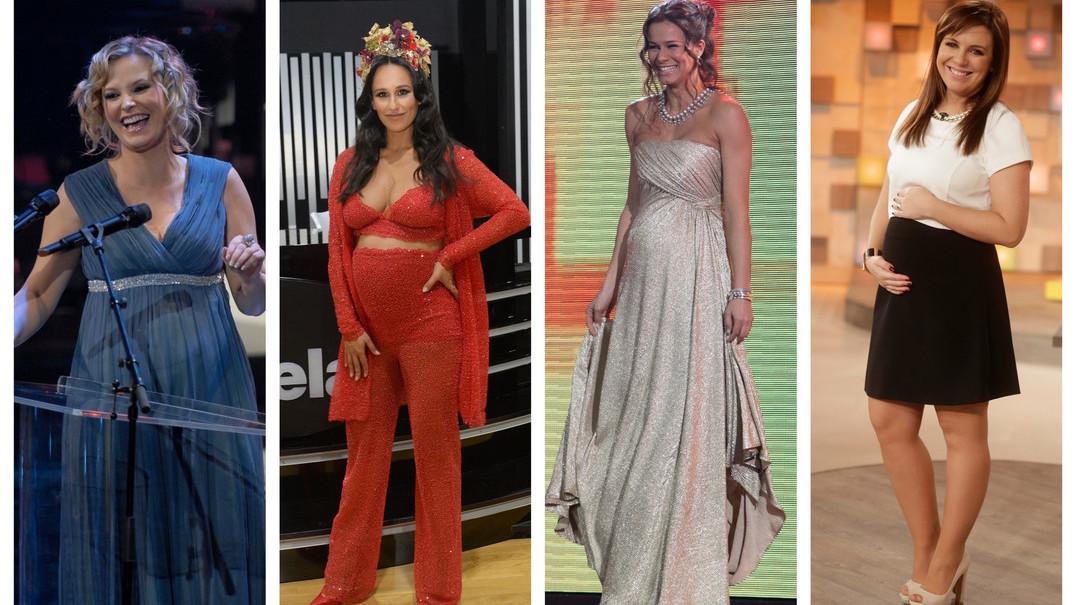 10 apresentadoras grávidas que brilharam na TV