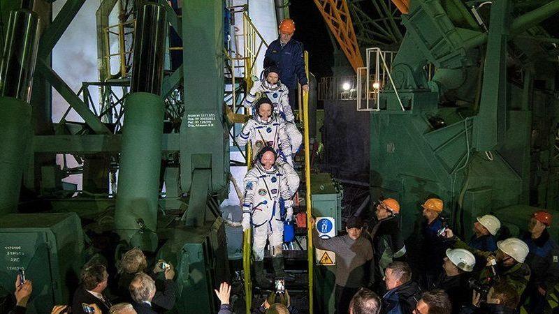 Novos astronautas a caminho da Estação Espacial para mais de 250 experiências científicas