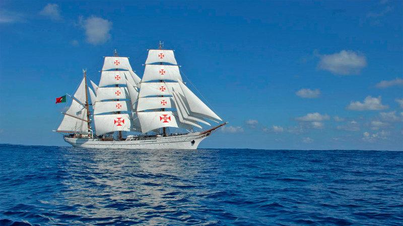 O navio mais belo do mundo é português. Concorda?