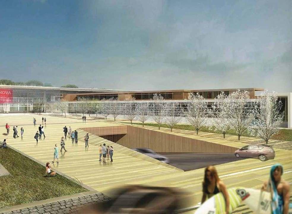 Sagres vai patrocinar o túnel que liga o campus da Nova SBE à praia