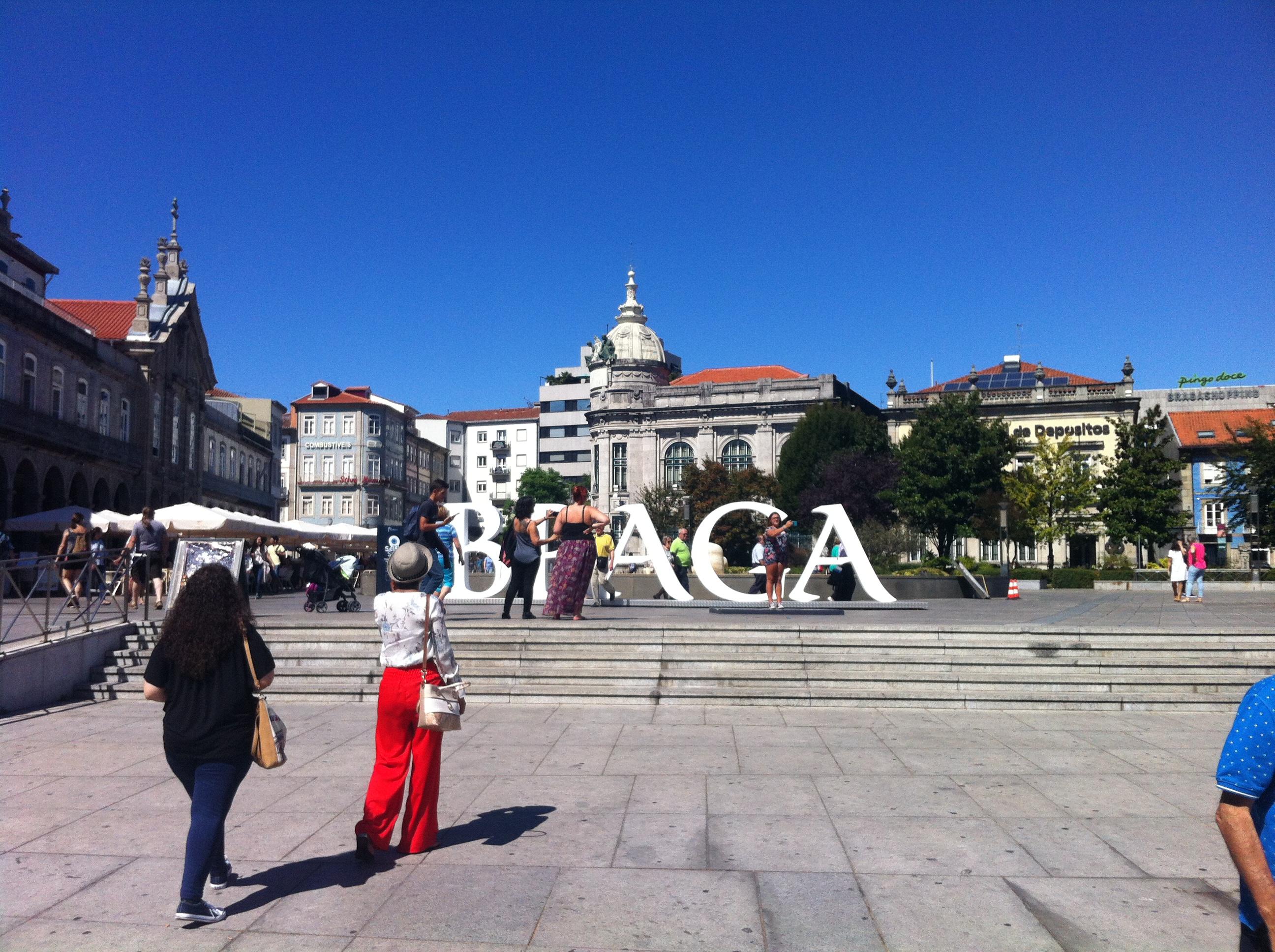Cara Madonna, e se visitasse Braga?