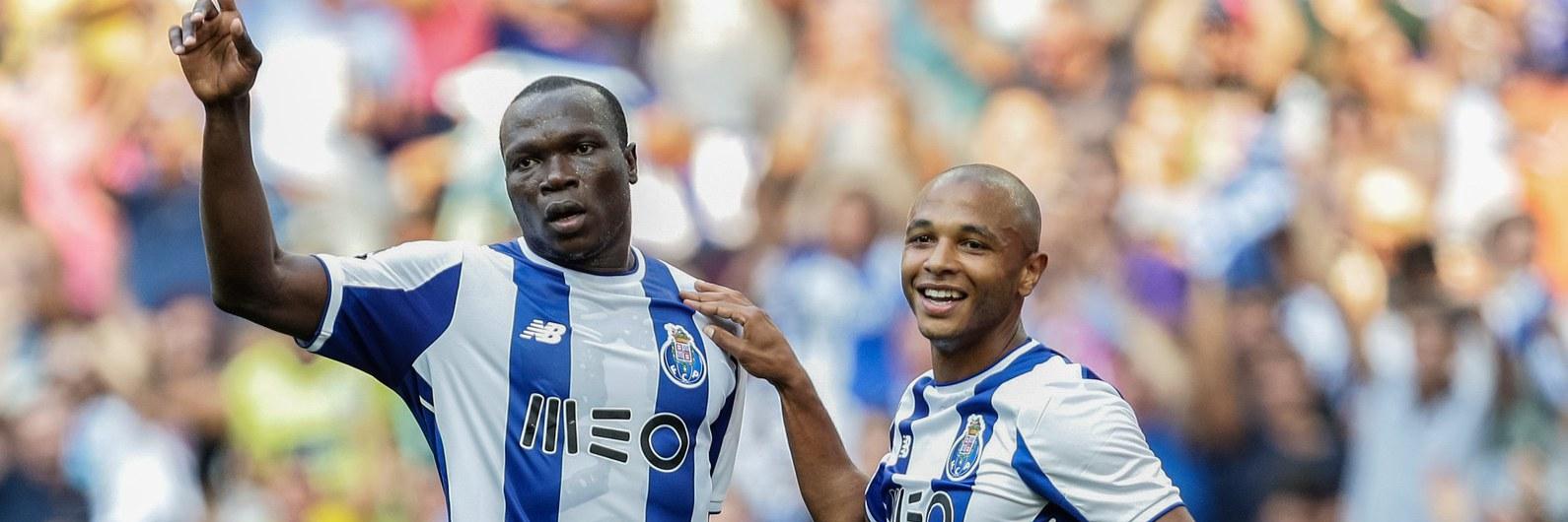 Vitória do FC Porto ao ritmo de um hat-trick de Aboubakar