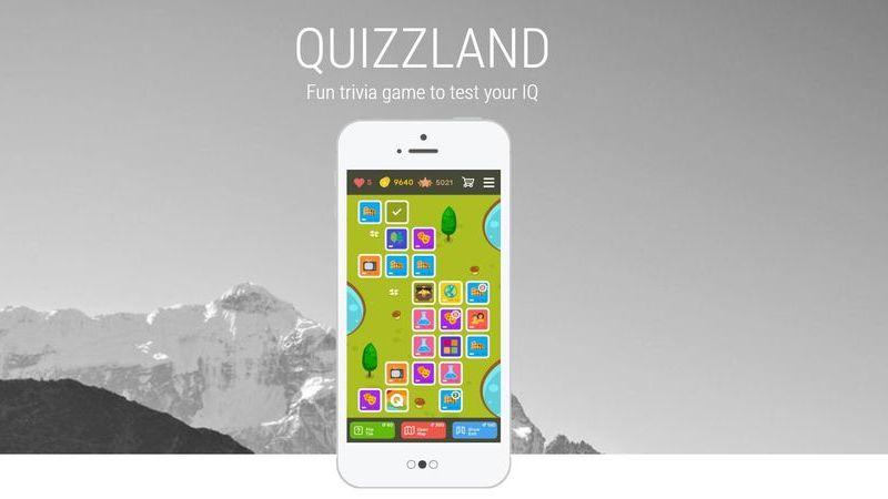 QuizzLand é um jogo para quem gosta de melhorar (ou testar) conhecimentos