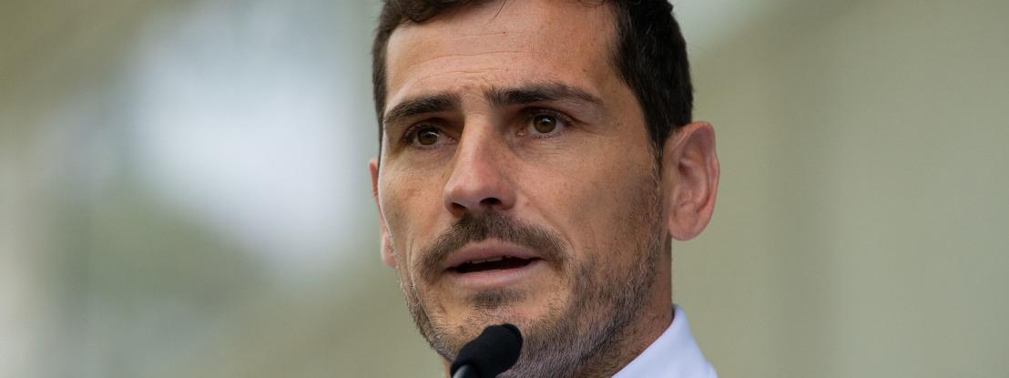 """Covid-19: Casillas considera """"ano civil"""" uma das hipóteses para concluir época"""
