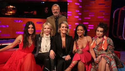 """Ocean´s 8"": Sandra Bullock revela intrigas para virar atrizes umas contra as outras"