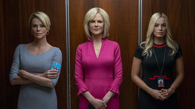 """Bombshell: O Escândalo"": Nicole Kidman, Margot Robbie e Charlize Theron num drama débil da era #MeToo"