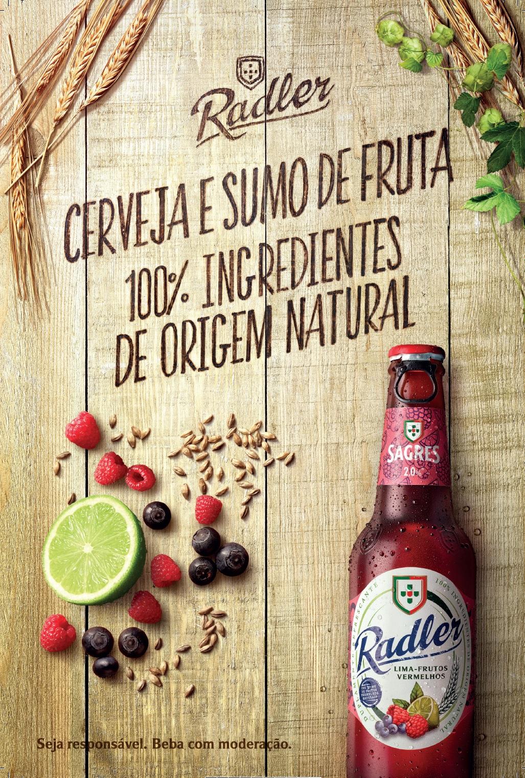 A natureza tem coisas bem mais estranhas do que beber cerveja com sumo de fruta natural