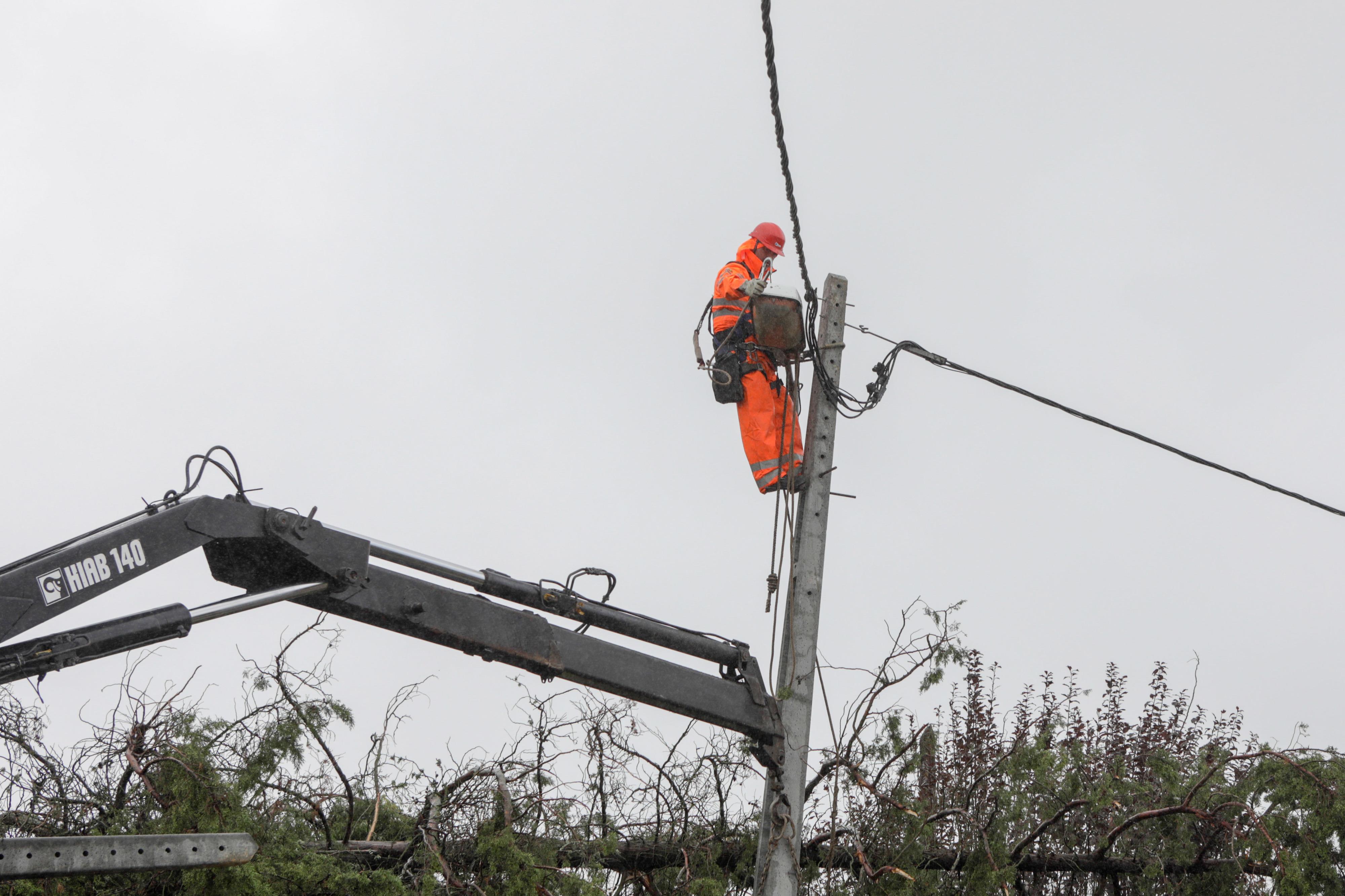 Tempestade Leslie. EDP diz que número de habitações sem energia está abaixo das duas mil
