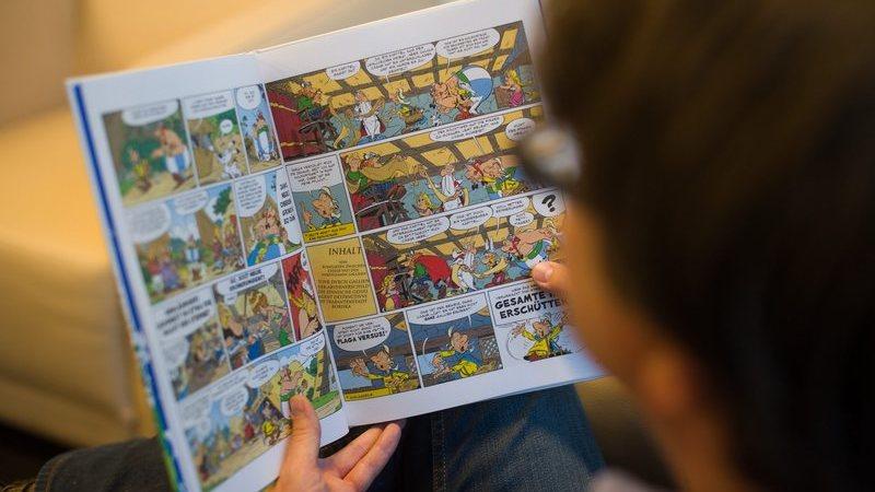 Revista gratuita do Astérix com histórias, jogos e atividades lançada em Portugal