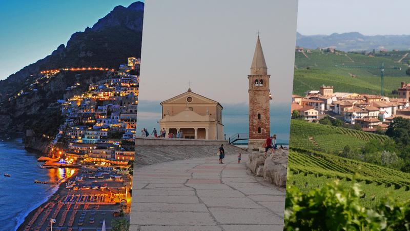 As 42 melhores cidades rurais da Itália para umas férias tranquilas