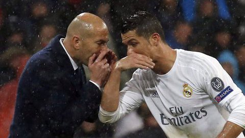 """Ronaldo: """"Zidane merece muito crédito"""""""