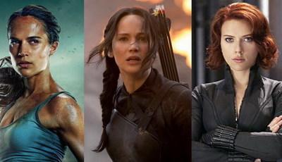 De Lara Croft a Katniss Everdeen: as heroínas do cinema de ação no século XXI
