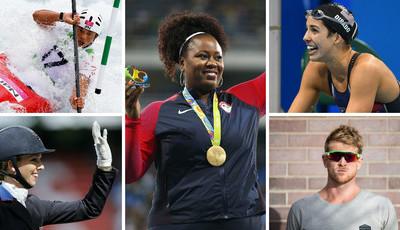 São atletas olímpicos mas também exercem outras profissões