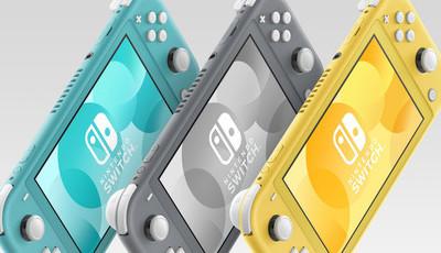 Nintendo Switch Lite chega esta sexta-feira às lojas