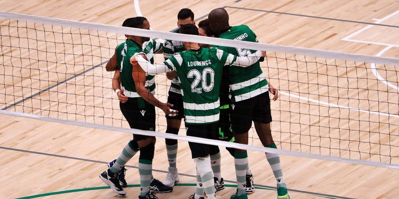 Voleibol: Sporting vence em Espinho e termina em primeiro na fase regular