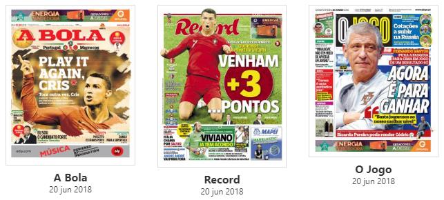Revista de imprensa: Ganhar a Marrocos e conquistar os primeiros três pontos