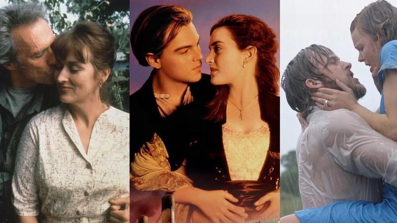 """""""As Pontes de Madison County"""" faz 25 anos: conhece os 150 filmes mais românticos para ver a dois?"""