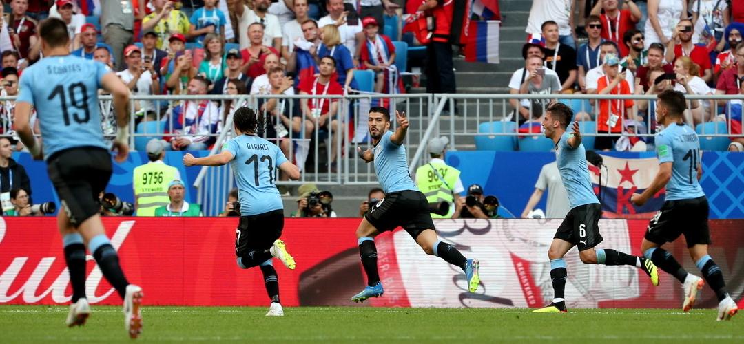 Mundial 2018: O Uruguai 'espiou' a Rússia e tirou-lhe a máscara