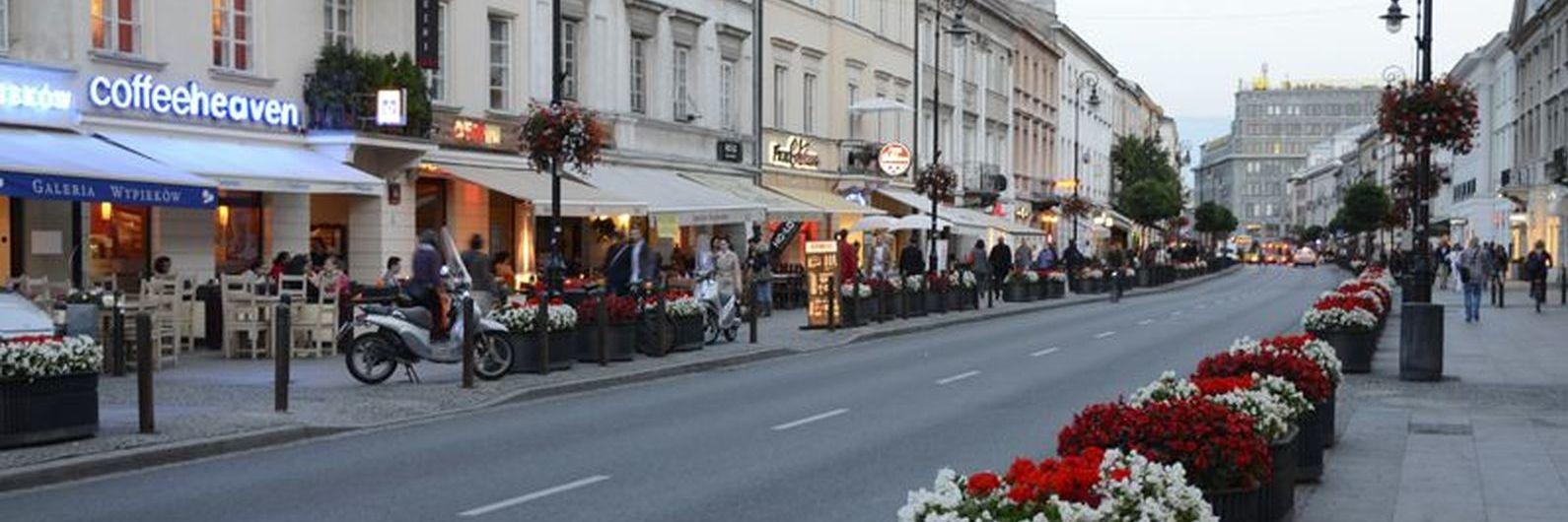 Varsóvia: saborear um café na capital da vodca