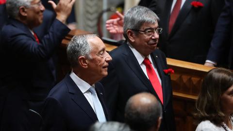 """Ferro Rodrigues afirma que Marcelo tem sido uma """"muralha"""" contra o populismo em Portugal"""