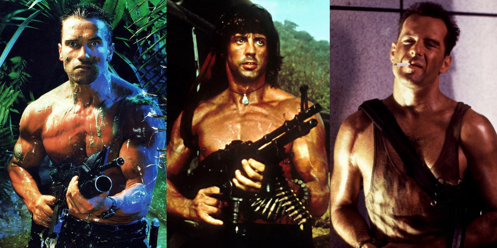 Ação de alta voltagem: Os grandes filmes da pesada dos anos 80