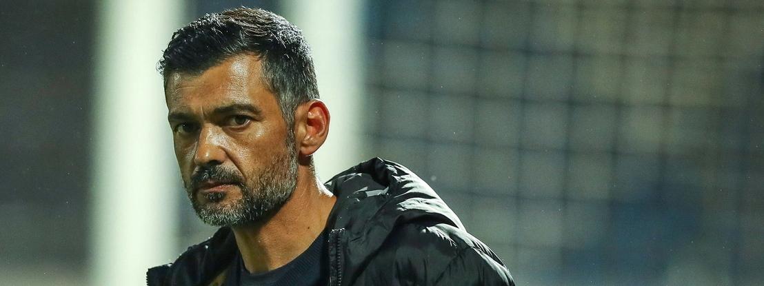 """Sérgio Conceição critica arbitragem: """"Não me quero desculpar, mas já estamos habituados"""""""
