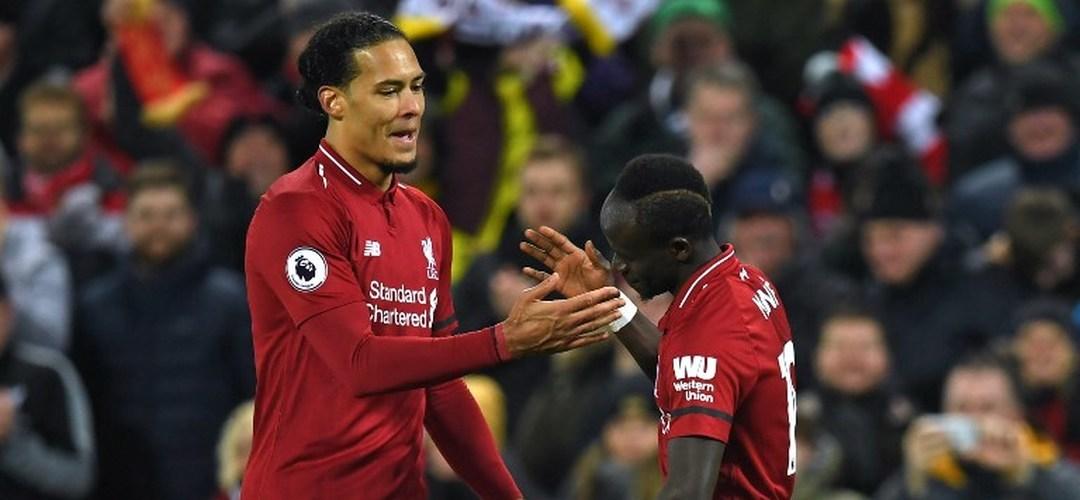 Premier League: Liverpool sofre, mas vence Palace em jogo de muitos golos em Anfield Road