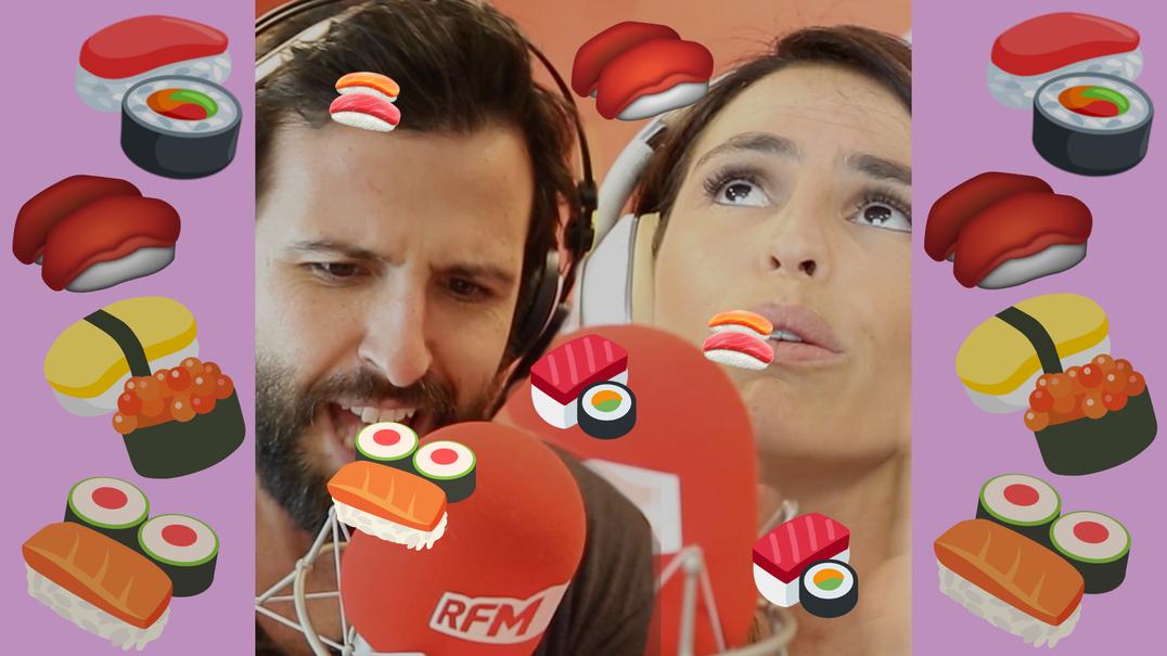 Amor de sushi fresco. BFFs Joana Cruz e Rodrigo Gomes na RFM