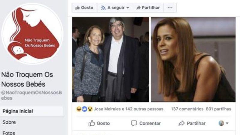 """""""Não Troquem os Nossos Bebés"""": a página no Facebook que lança suspeitas sobre origens de figuras públicas (e não só)"""