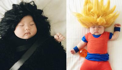 De Jon Snow a Son Goku: Mãe veste bebé com disfarces de personagens da cultura pop
