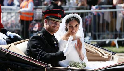 Os casamentos reais britânicos em fotografias