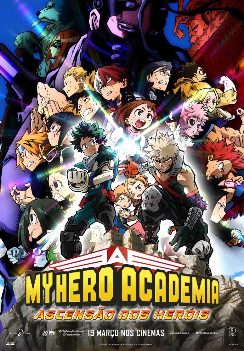 """My Hero Academia: Ascensão dos Heróis"""": ganhe convites para as antestreias"""