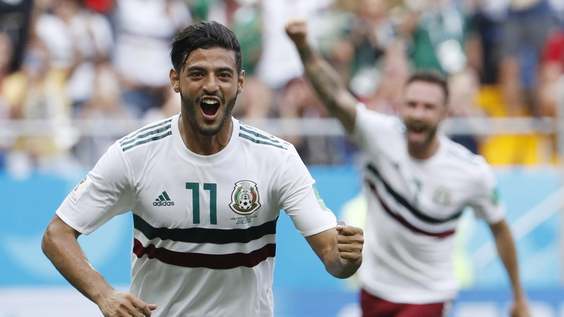 O Coreia do Sul-México em números: Carlos Vela foi o MVP dos 'aztecas'
